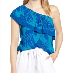 One Shoulder Gibson Top